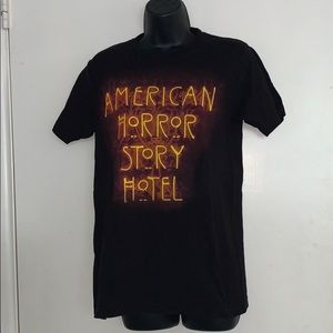 American Horror Story Small Black Graphic T-Shirt